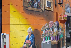 Florist in the Street